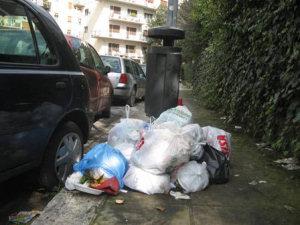 Spazzatura a Palermo