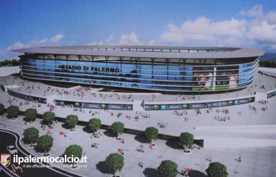 Presentato il nuovo stadio del Palermo