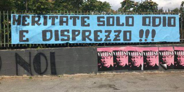 """Palermo contestato al tenente Onorato, Zamparini dice """"Vi aspetta la serie C"""""""