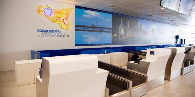 Inaugurata la terza sala check-in all'aeroporto di Palermo