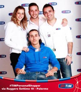 #TIMPersonalShopper party: oggi Negozio TIM via Ruggero Settimo