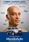Corini testimonial per la Hyundai Santa Fe