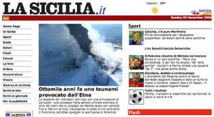 Ottomila anni fa uno tsunami provocato dall'Etna