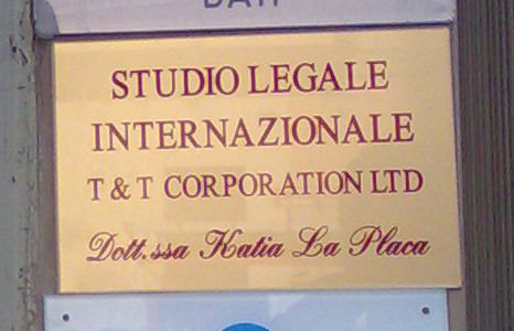 Studio legale La Placa - T & T corporation Ltd.