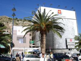 Torre di avvistamento della piazza di Mondello