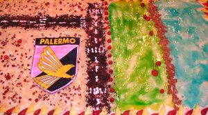 La torta di Diego è...il Foro Italico!