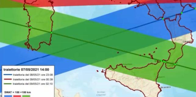 Un razzo spaziale cinese ricadrà sulla Terra, rischi anche per la Sicilia e Palermo