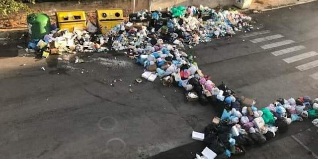 Via Atlante e rifiuti