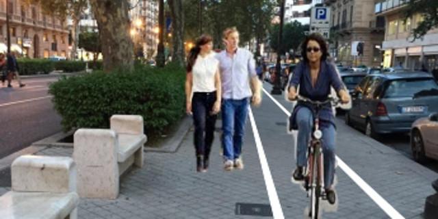 Entro novembre nuove piste ciclabili in via Libertà