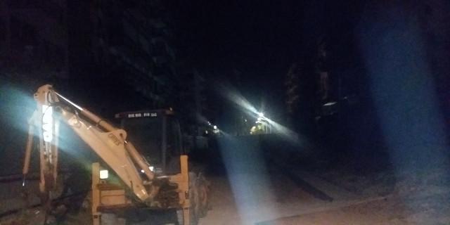 Viale Lazio al buio da giorni dopo incidente al cantiere dell'anello ferroviario