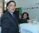 Leoluca Orlando vota