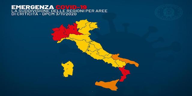 Coronavirus, la Sicilia zona arancione: restrizioni per due settimane