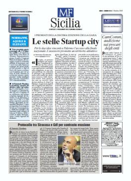 Milano Finanza Sicilia