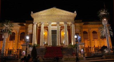 Teatro Massimo in versione natalizia 2007
