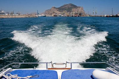 Leaving Palermo