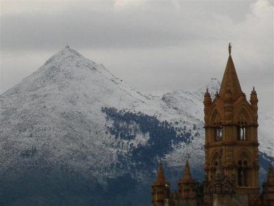 Monte Cuccio e la Cattedrale