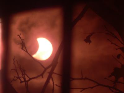 L'eclissi di Sole del 4 gennaio da Palermo