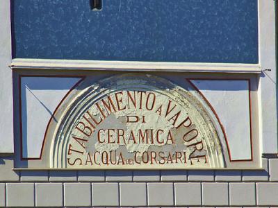 Stabilimento a vapore di ceramica - Acqua dei corsari