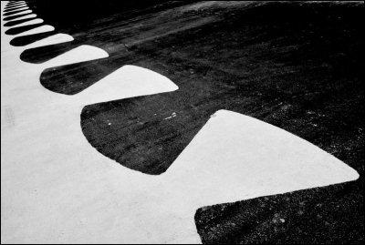 Bianco e nero al Foro Italico