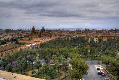 Palermo dall'Osservatorio