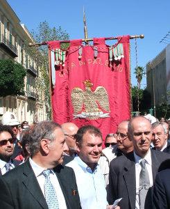 La città di Palermo con Lirio Abbate